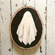 Find images and videos about Halloween, ghost and boo on We Heart It - the app to get lost in what you love. Fete Halloween, Halloween Crafts, Ghost Tattoo, Tattoo Tree, Oeuvre D'art, Art Inspo, Art Drawings, Ghost Drawings, Cool Art