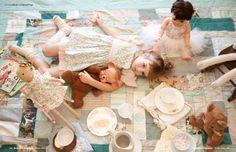 tea party!   From Babiekins Magazine!   Babiekinsmag.com