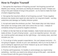 how to forgive yourself - victims of childhood abuse (adults too) often feel guilty that they somehow caused the wrong done to them