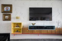 30 painéis de TV maravilhosos para deixar a sala linda