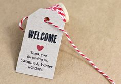 Welcome Tag Wedding Gift Bag Tag Hostess Gift Hotel by iDoTags Wedding Gift Tags, Wedding Gifts For Guests, Party Favor Tags, Wedding Signs, Hotel Welcome Bags, Wedding Images, Wedding Ideas, Wedding Pictures, Wedding Decorations
