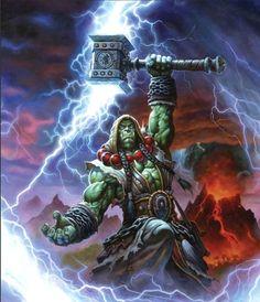 Having Thrall as the Horde leader rather than Garrosh...