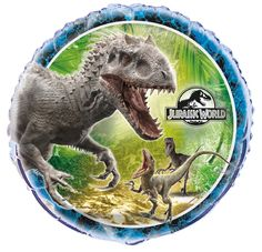 """Jurassic World"" 18-inches Foil Balloon by UNIQUE 
