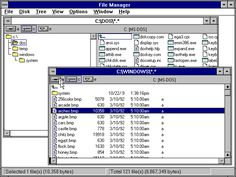 Windows 3.1 File Manager