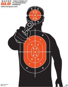 BakerGlo-MWG-PRO-S Paper Shooting Targets, Paper Targets, Airsoft, Pistol Targets, Archery Targets, Range Targets, Reloading Bench, Target Practice, Shooting Range