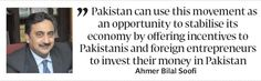 Political musings: Soofi sees historic opportunity for Pakistan - The Express Tribune