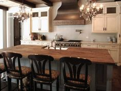 reclaimed Oak beams were used to make this beautiful island top. The patina of each piece was carefully preserved to enhance the natural antique appearance. The top was finished with Hardwax Oil in natural color. Reclaimed Kitchen, Patina Color, Red Oak, Beautiful Islands, Woodwork, Beams, Countertops, Kitchen Island, Hardwood