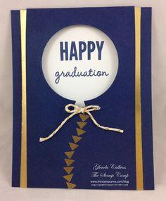 Glenda Calkins: Peek-a-Boo Front Flip Card Balloon die & Celebrate Today stamp set.  Video tutorial in the post.