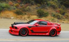 03 Ford mustang custom paint job | ... Mustang GT and started to transform it into the Red Mist for the movie