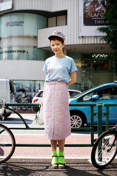 ストリートスナップ | mai | BLUE TOMATO 美容師 | 原宿 (東京)