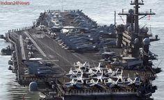 Japan destroyer leaves port reportedly to escort US warships