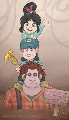 Ask Wreck-it Ralph! Disney Pixar, Disney Wiki, Disney Fan Art, Disney Animation, Disney And Dreamworks, Ralph Disney, B The Beginning, Wreck It Ralph Movie, Disney Pictures