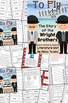 """""""To Fly"""" unit about the Wright Brothers"""