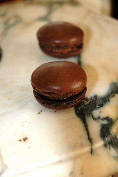 Macarons au chocolat : Recette macaron chocolat