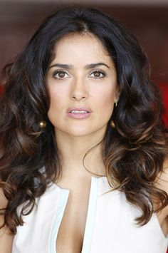this is the color!!! Salma Hayek Talks Beauty Secrets