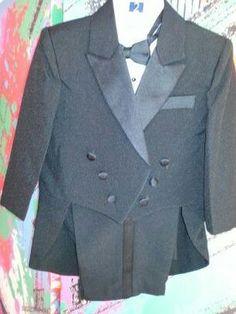 Boys suit tux baby 1-4