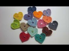 Coração de Crochê - YouTube