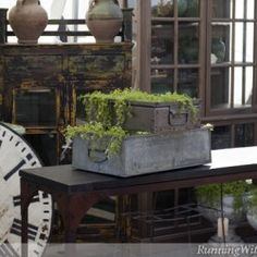 Garden Decorating With Flea Market Finds: Bring The Inside Outside