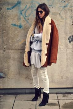 maja wyh street style – being jo Style Désinvolte Chic, Street Style Chic, Cool Girl Style, Preppy Style, Style Me, Boho Chic, Casual Chic, Plaid Fashion, Love Fashion