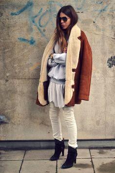 Maja Wyh | Street Style #VestiaireGoesGlobal