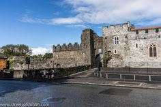 Swords Castle was built as the manorial residence of the Archbishops of Dublin around 1200 or a little later in Swords, just north of Dublin.    It was never strong in the military sense, but covers a large pentagonal walled area of nearly 1.5 acres (6 I like this one