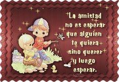 La amistad no es esperar que alguien te quiera... #amistad #amiga #amigos #amigas #amigo