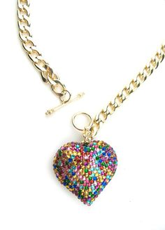 Candy Heart Necklace $30