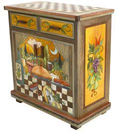 Buffet 2 Door, 2 Drawer