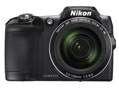 Amazon.com : Nikon COOLPIX L840 Digital Camera with 38x Optical Zoom and Built-In Wi-Fi (Black) : Camera & Photo