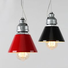 Vintage industrial bronze red green loft cafe pendant light steampunk industrial pendant pipe ceiling lamp red black shade factory lighting mozeypictures Gallery