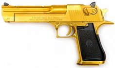 (Resident Evil: Apocalypse),Desert Eagle MK XIX with Gold Finish - .44 Magnum.