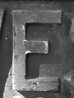 """Letter """"E"""" black-n-white Alphabet E, Alphabet And Numbers, Living In Boston, White Bear Lake, Alphabet Photography, Letter N Words, White Letters, Black N White, Kids Decor"""