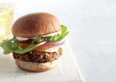 Red Quinoa Zucchini Burgers | Vegetarian Times