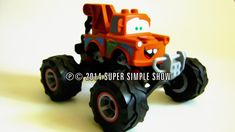 Building Toys. Monster Trucks for Children. Disney Cars Lego Duplo Monster Mater. Plus funny Animals for toddlers, babies