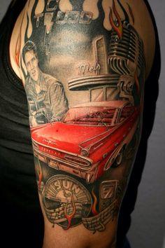 Rockabilly tattoo