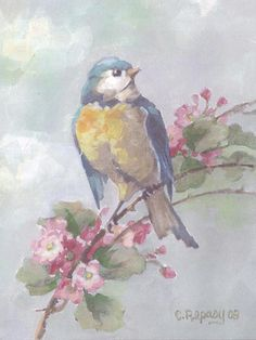 Songbird Canvas Print by Christie Repasy