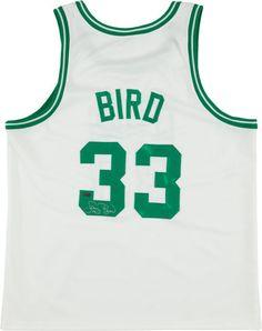 bcad4ba2e Larry Bird Signed Boston Celtics Jersey Basketball Legends