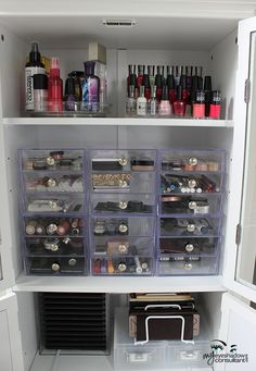 Makeup Re-Organizing! + Storage Solutions for Your Collection | My Eyeshadow Consultant