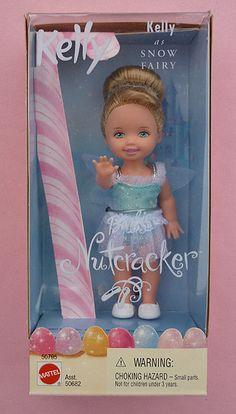 Barbie Nutcracker - Kelly as Snow Fairy