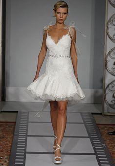 21f7d82b4e8 New Designer V-Neck Lace Gauze Satin Bridal Dresses - Wedding Dresses