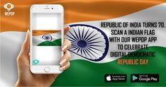 Indian Flag, Republic Day, Social Marketing, Augmented Reality, Celebration, Social Media, App, Education, Apps