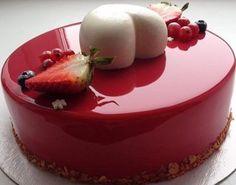 Zrkadlová glazúra na torty a múčniky | Božské recepty
