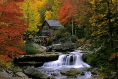 Babcock Mill in fall