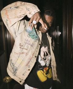 Asap Rocky Outfits, Pretty Flacko, A$ap Rocky, Music Wallpaper, Reusable Tote Bags, Celebs, Saree, Event Ideas, Billboard