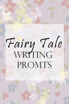 Creative writing prompts for those of us who need to exercise our fiction writing muscles with some nostalgia educing prompts inspired by our favorite fairy tales. Fiction Writing Prompts, Book Writing Tips, Story Prompts, Writing Words, Writing Resources, Writing Skills, Writing Ideas, Creative Writing Inspiration, Creative Writing Prompts