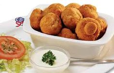 Crumbed Mushrooms, served with tartare or garlic sauce at Spur Steak Ranches… Kos, Braai Recipes, Cooking Recipes, Veggie Recipes, South African Recipes, Savory Snacks, Vegetable Dishes, Veg Dishes, Light Recipes