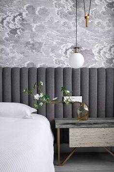 bedroom home design Hotel Bedroom Design, Home Bedroom, Bedroom Decor, Design Hotel, Bedroom Ideas, Bedroom Lighting, Bedroom Inspo, Wall Decor, Room Interior