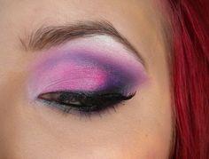Violet Shock https://www.makeupbee.com/look_Violet-Shock_32164. Dollipop, poison plum, tako, black eyeshadow