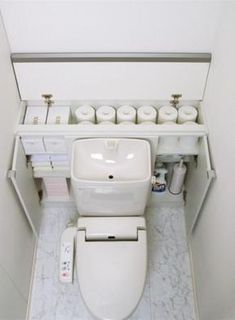 Bathroom Decorating – Home Decorating Ideas Kitchen and room Designs Bathroom Tub Shower, Downstairs Bathroom, Small Bathroom, Bathroom Organisation, Bathroom Storage, Powder Room Storage, Bathroom Under Stairs, Small Toilet Room, Toilet Design