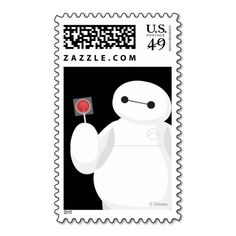Big Hero 6 Lollipop Sign Stamps